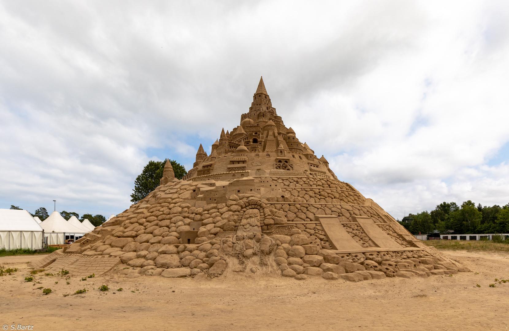 Höchste Sandburg der Welt _ Sandfestival Binz 2019 (3)