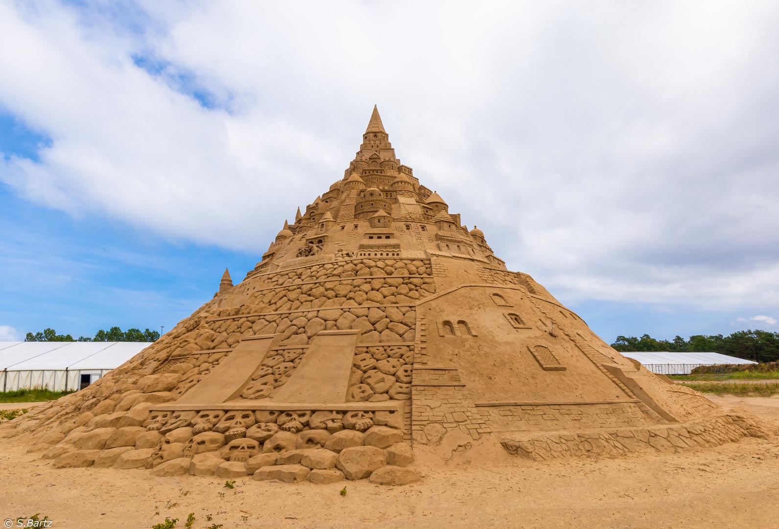 Höchste Sandburg der Welt _ Sandfestival Binz 2019 (6)