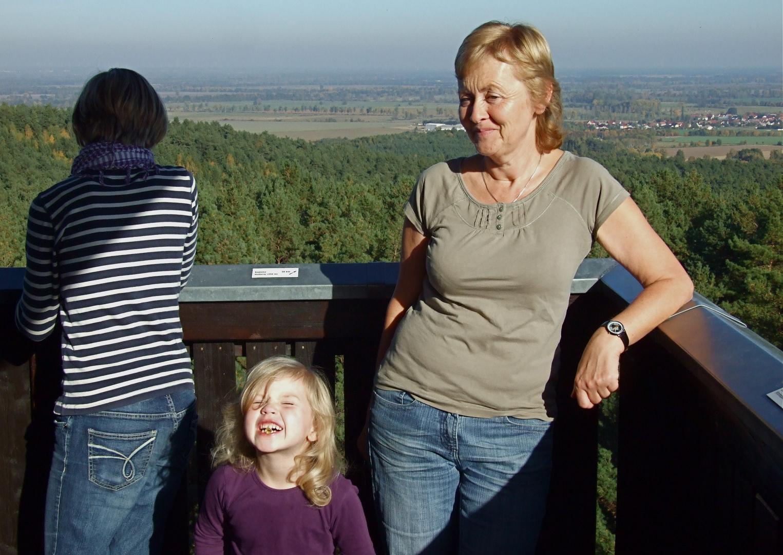°°° Höhenluft im Grenzland auf dem Heidebergturm °°°