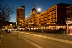 Höheweg mit Grand Hotel Victoria-Jungfrau