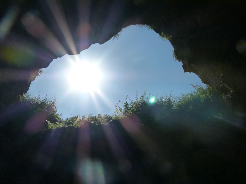 Höhle in einem anatolischen Dorf