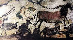 Höhlen von Lascaux - Saal de Stiere