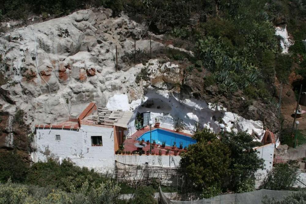 Höhlen Wohnung mit Pool