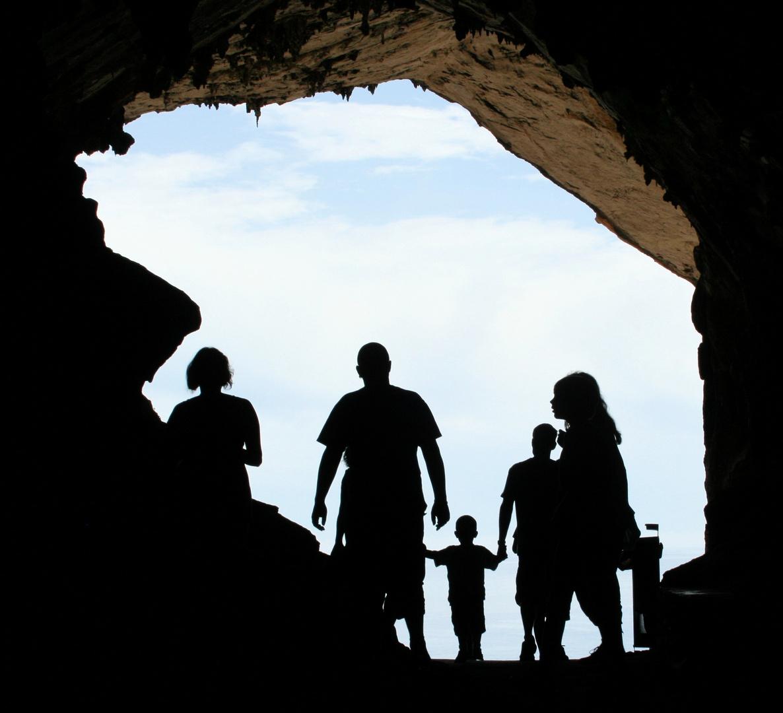 Höhleneingang auf Mallorca