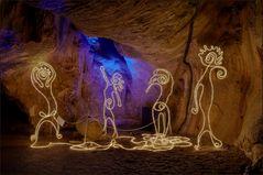 Höhlenlichter (2) ...