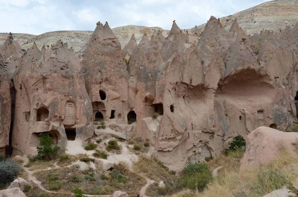 Höhlenwohnungen in Zelve
