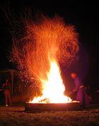 Höllenfeuer für einen Mönch
