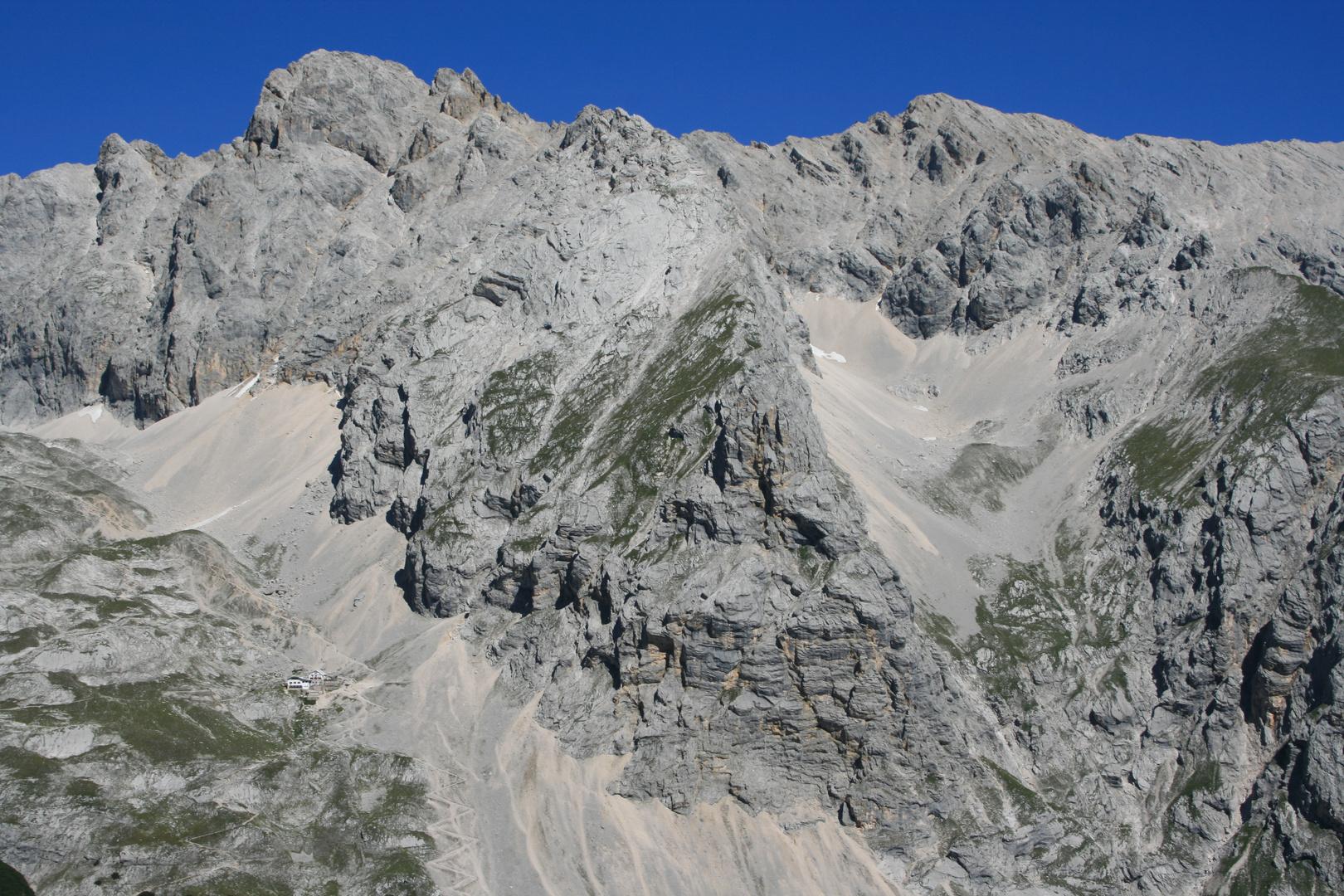 Höllentalspitze & Knorrhütte