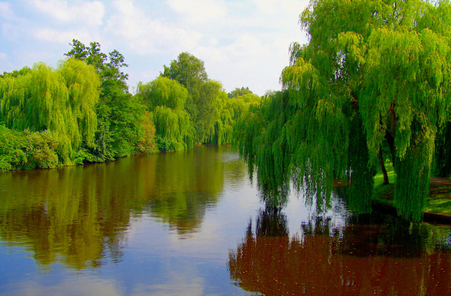 Höre auf den Fluß