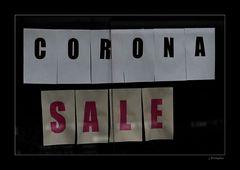 - hoffen wir, dass Corona so schnell wie möglich ausverkauft ist! -