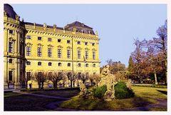 Hofgarten der Residenz Würzburg