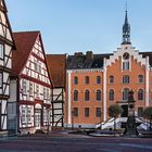 HOFGEISMAR, Rathaus am Marktplatz