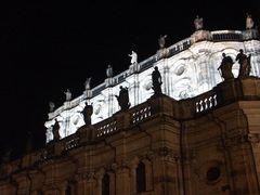 Hofkirche in Dresden nachts