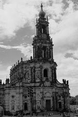 Hofkirche nostalgisch
