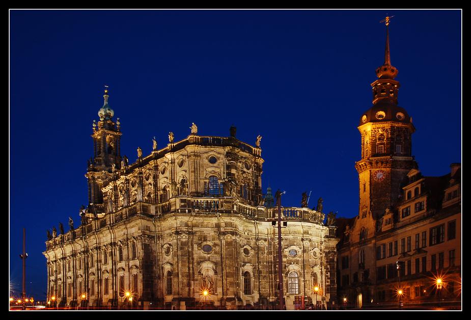 ~ Hofkirche und Residenzschloss ~