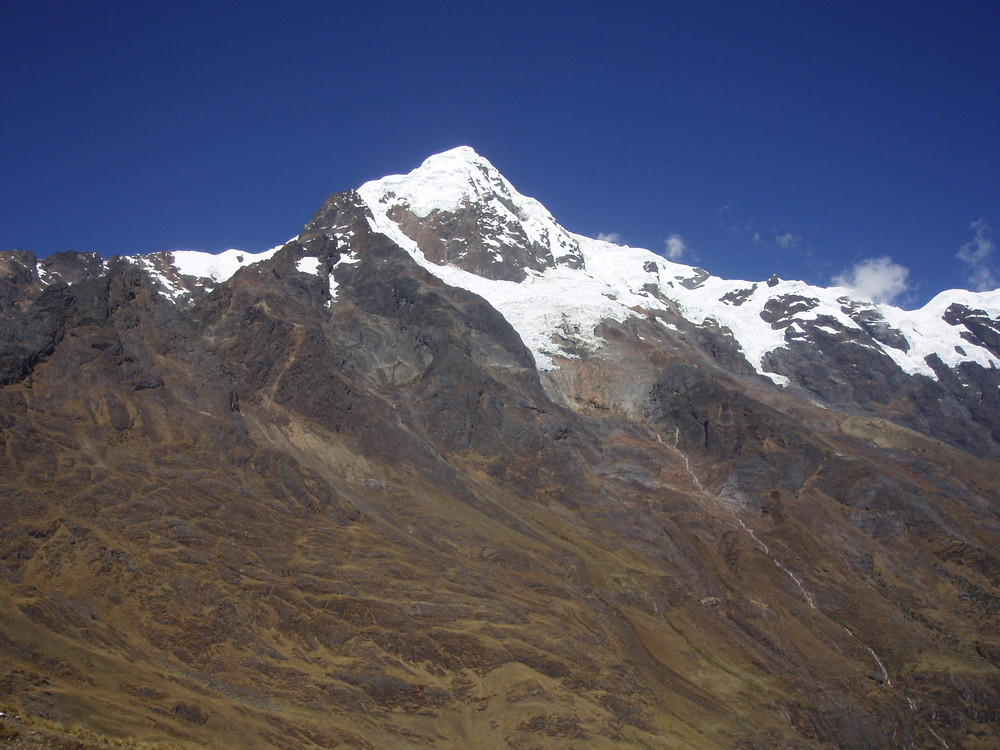 Hohe Berge in Perú