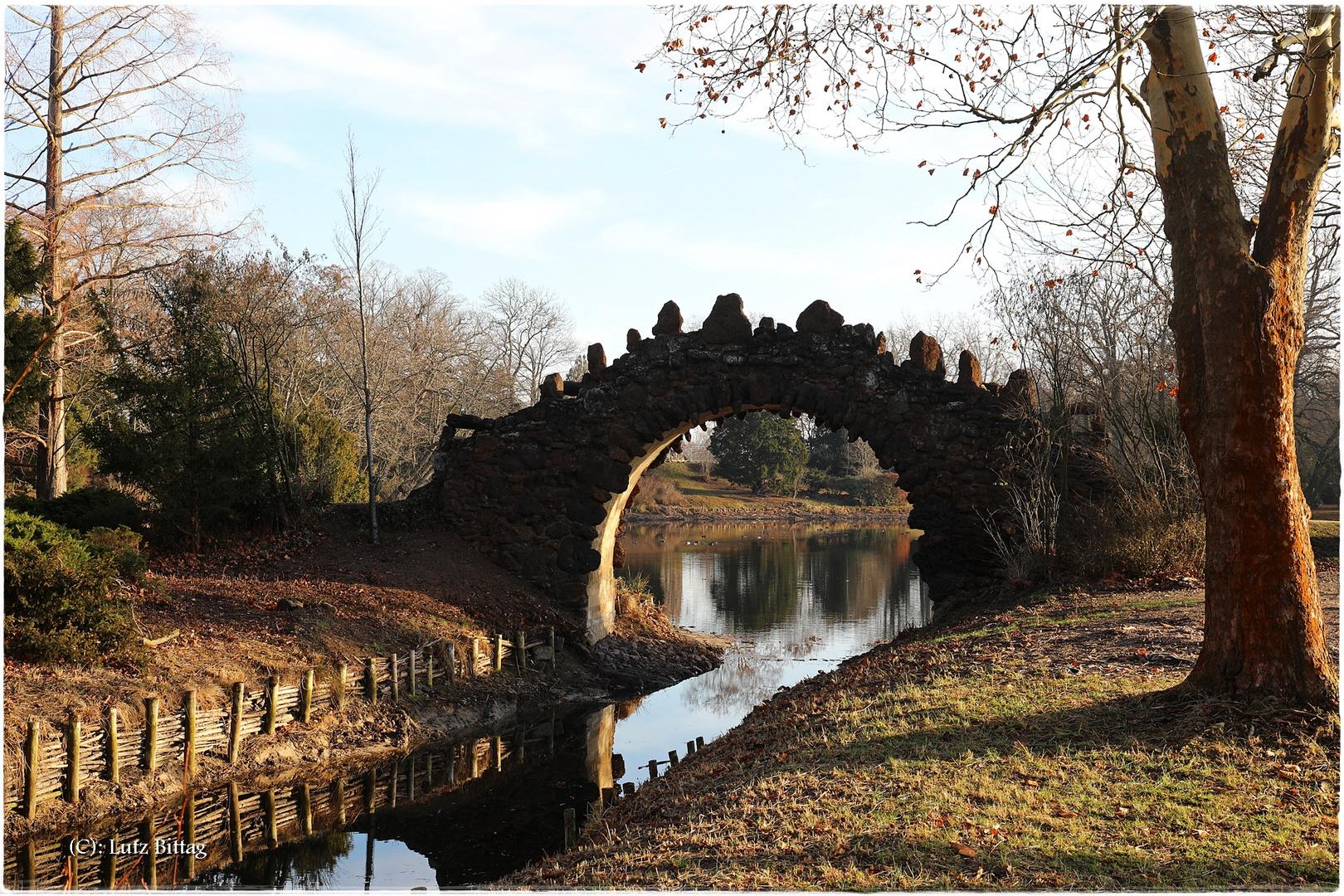 Hohe Brücke Wörlitz