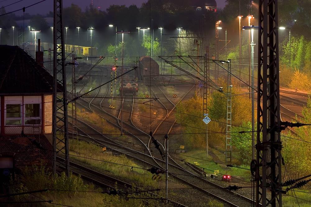 Hohe Luftfeuchtigkeit am Güterbahnhof