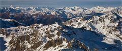 Hohe Tauern mit Großglockner (3.797m NN)