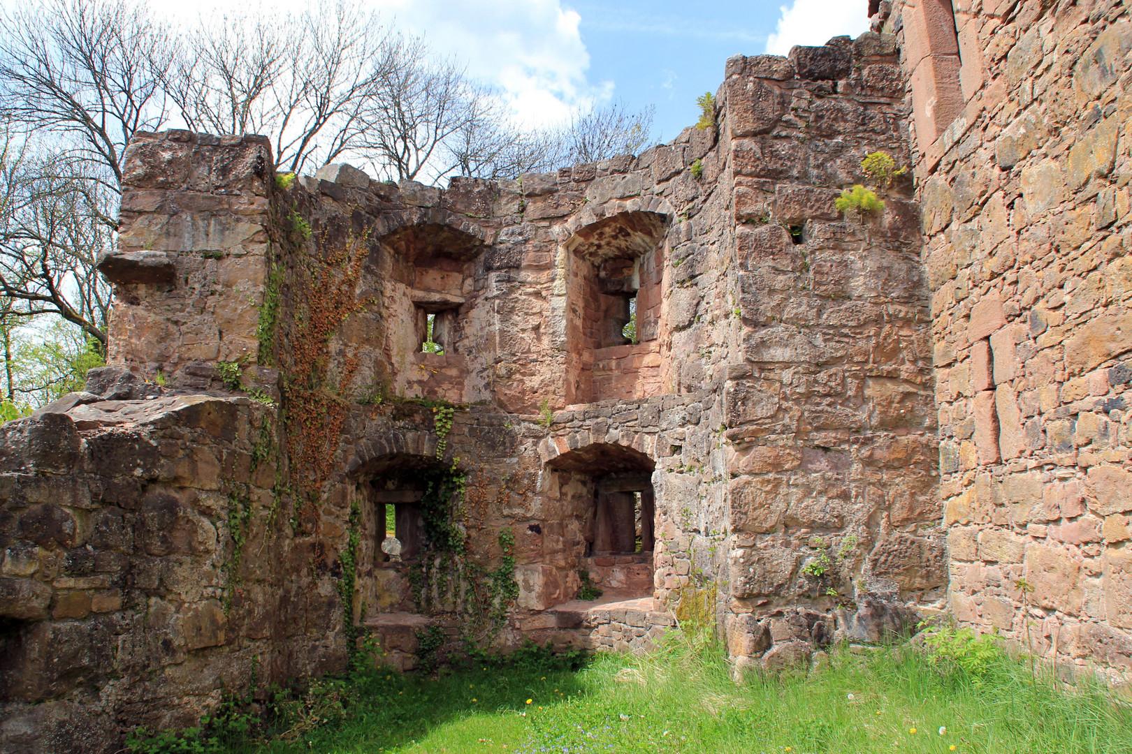 Hohenschramberg, ehemalige Festung
