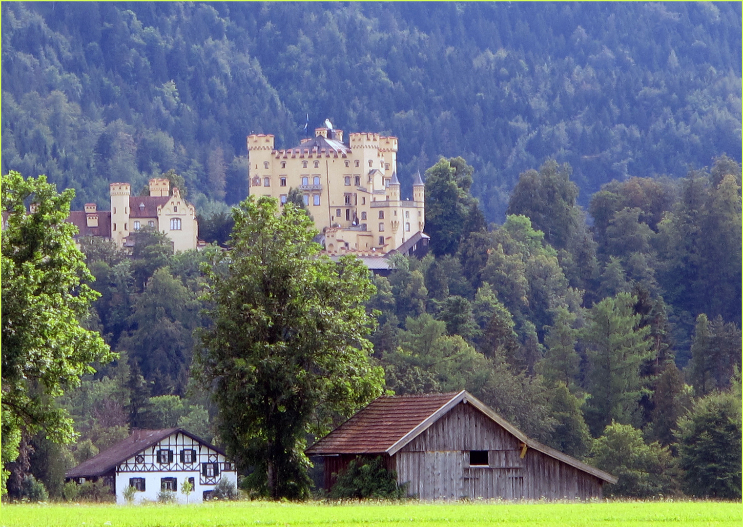 Hohenschwangau ...