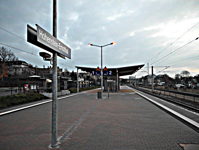 Hohenstein-Ernstthal, Bahnhof