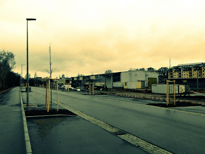 Hohenstein-Ernstthal, Güterbahnhof