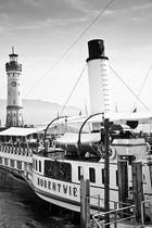 Hohentwiel | Das königliche Dampfschiff. Seit 1913. | Im Hafen Lindau Bodensee