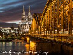 Hohenzollerbrücke und Dom