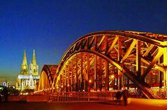 """"""" Hohenzollern - Brücke """""""