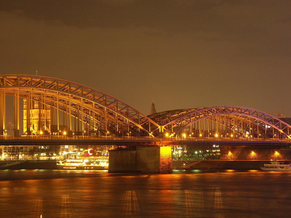 Hohenzollernbrücke 18.12.06