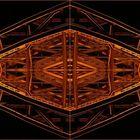 Hohenzollernbrücke abstrakt