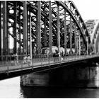 Hohenzollernbrücke am Dom
