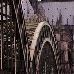 Hohenzollernbrücke & Dom