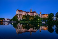 Hohenzollernschloss, Sigmaringen, Donau