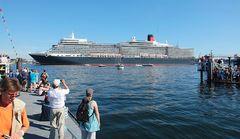 Hoher Besuch in Kiel: Die Queen Elizabeth!