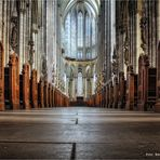 hoher Dom zu Köln .....