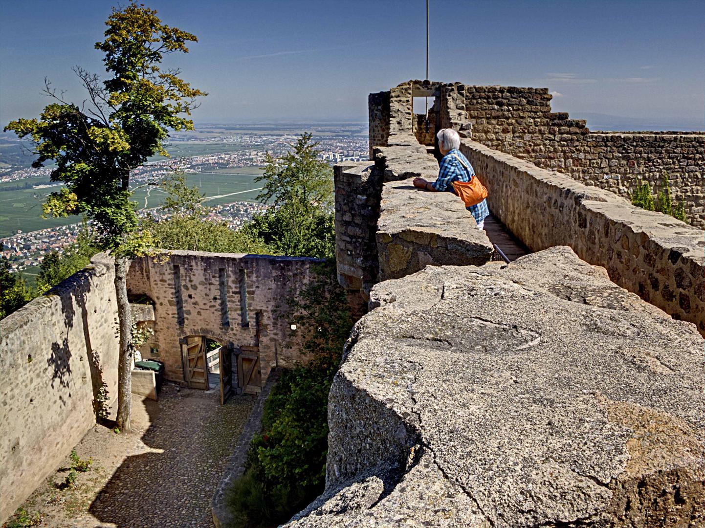 Hohlandsburg im Elsass