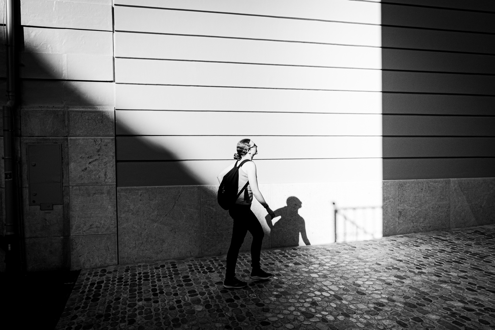 Holding back the shadow