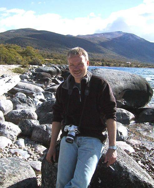 Holger am Lago Vinter- Argentinien