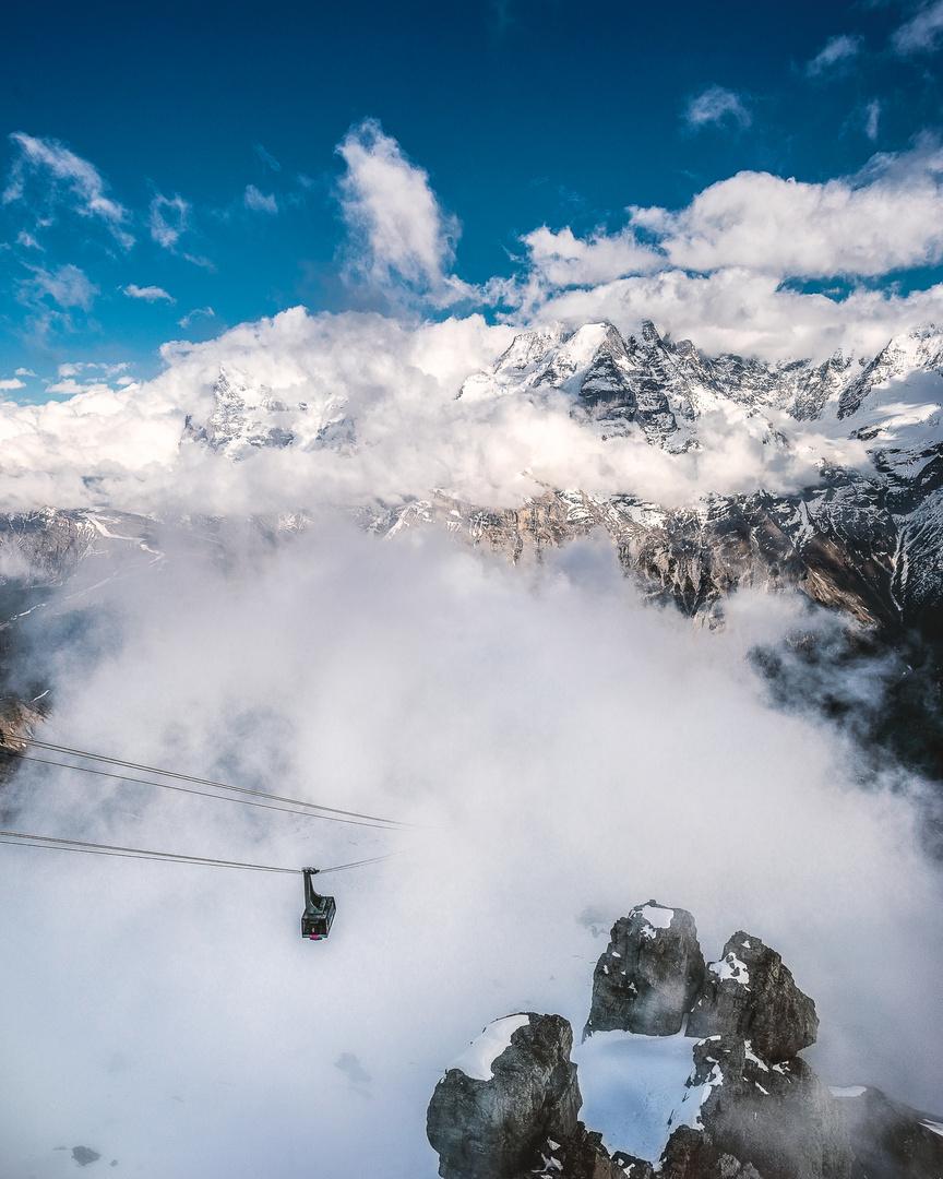 Holla..! Eiger, Mönch und Jungfrau
