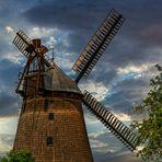Holländerwindmühle Straupitz