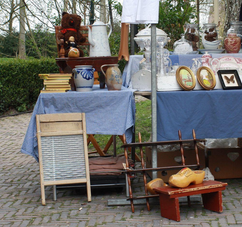 Holländische Flohmarkt