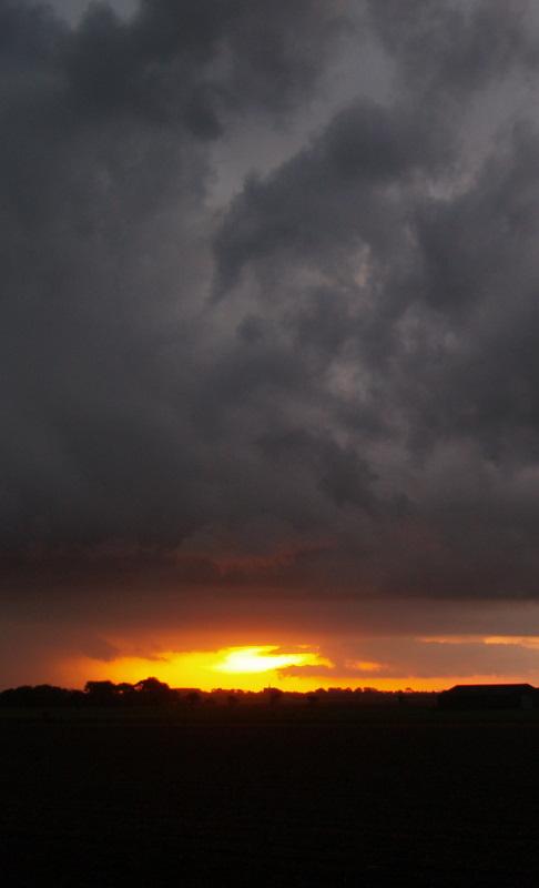 Holland - Das Unwetter naht