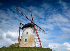 Hollandische Mühlen