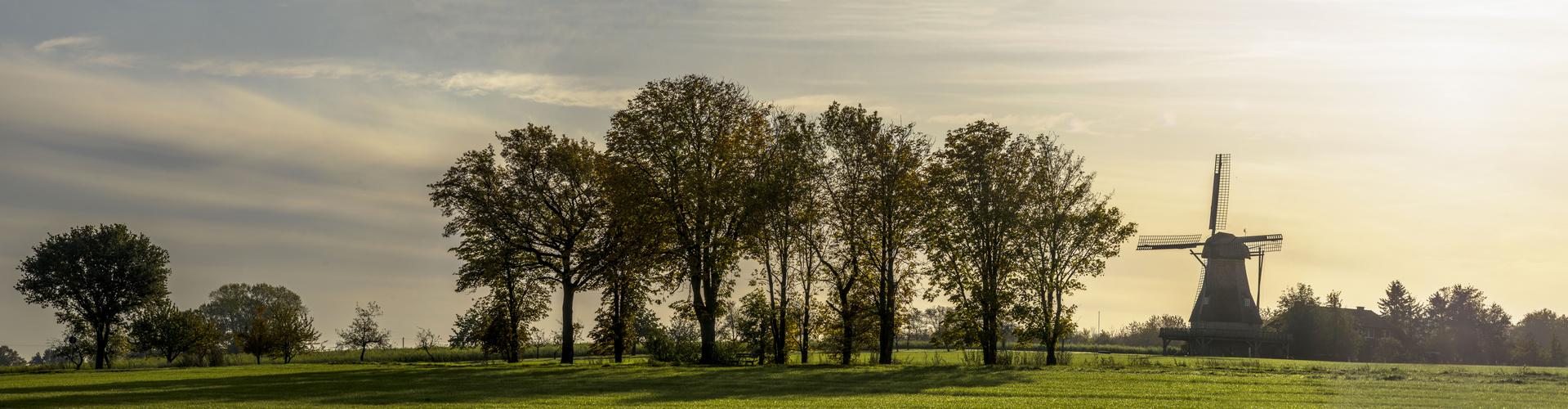 Hollicher Mühle im Morgenlicht