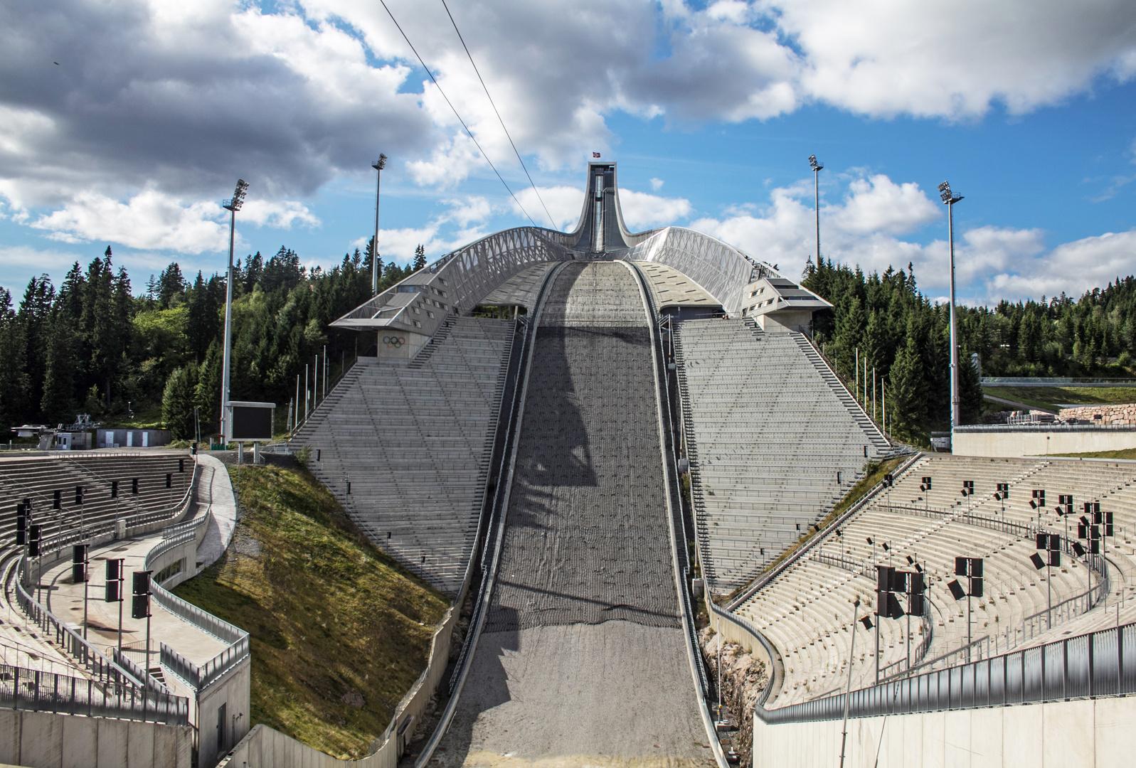 Holmenkollenschanze in Oslo