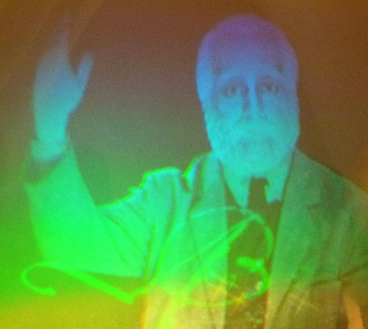 Hologramm eines Genies !