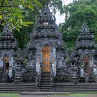 Holy gate to Pura Goa Lawah