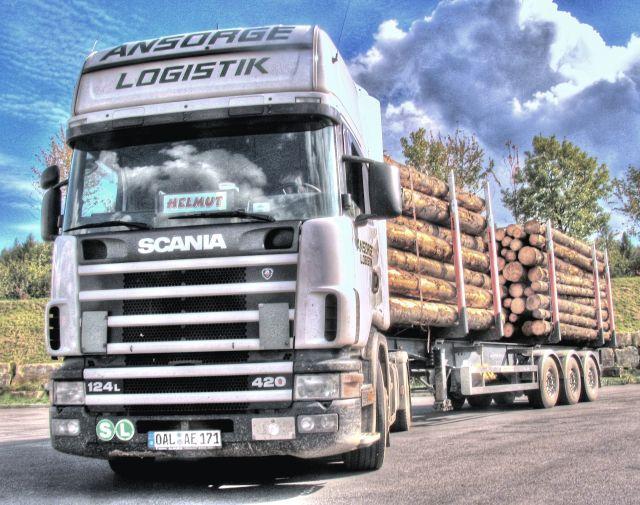 Holz SCANIA